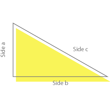 Triangle Calculator – Square Footage Area