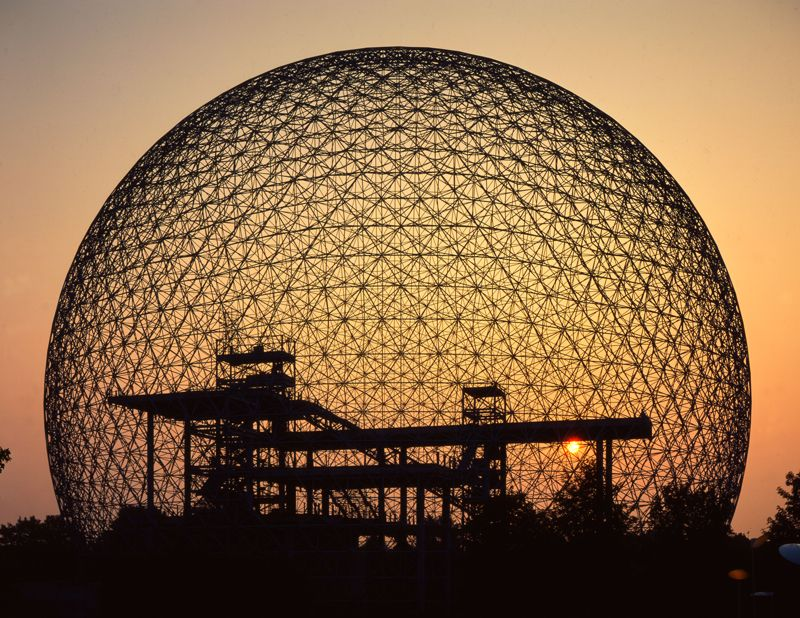 Buckminster Fuller - The Brain Behind Geodesic Homes